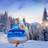 Шаг из зимы в лето :: Natalia Petrenko