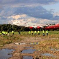 Боинг 747 улетает. :: ast62