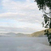 Теренкуль в утреннем тумане :: Татьяна Ушакова