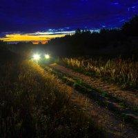 Возвращаясь домой после съемки заката. :: Валерий Гудков