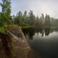 "из серии ""Туманное утро на озере"" :: Фёдор. Лашков"
