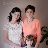 Олеся с мамой и дочерью :: Аннета /Анна/ Шу