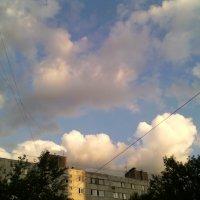 Городские облака. :: Ольга Кривых