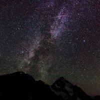 Метеориты Персеиды над Чегетом :: Александр Хорошилов