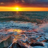 Крым. Море. Закат. :: Igor GRIN