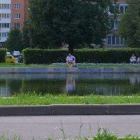 Рыбное место - раз :: Владимир  Зотов