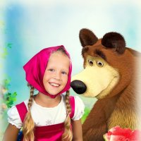 Маша и медведь :: Галина Данильчева