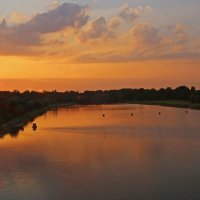 Закат на озёрах :: Alexander