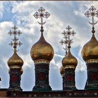 Купала церкви Теремного дворца :: Вера