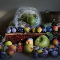 яблоки и сливы :: Наталья S