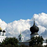 Троицкий собор, колокольня и купол Успенского храма :: Fededuard Винтанюк