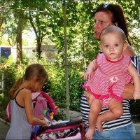 Дочки-матери :: Нина Корешкова