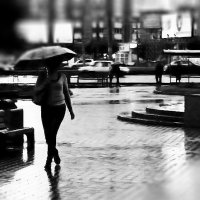 Через промокший вечерний город :: Екатерина Торганская