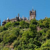 Замок Кохэм, Вид с реки Мозель :: Witalij Loewin