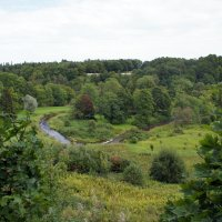 Вид на живописную долину реки Пюхайыга («святая река») :: Елена Павлова (Смолова)