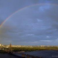 Радуга над Днепром :: Марина Грицай
