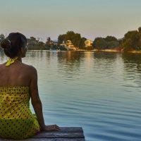 Тихий вечер на озере :: Наталья Понтус