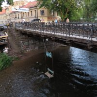 Качели над рекой :: Оксана Кошелева