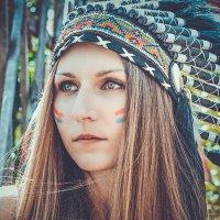 Женщина индейского племени... :: Татьяна Фирсова