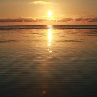 Закат на Татарском проливе :: Ilona An