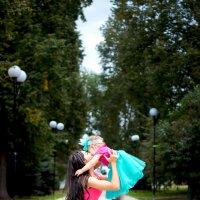 Мама и дочка на одной волне! :: Дарья Труфанова