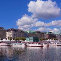 Hamburg. Alster. (Гамбург. Озеро Альстер), серия :: Nina Yudicheva