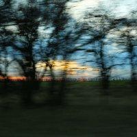 Скоростной закат :: Анатолий