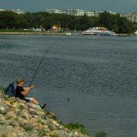 Удача юного рыболова :: Игорь Герман