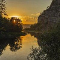 Скала Сабакай на закате... :: Альмира Юсупова