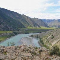 Река Сема, Горный Алтай. :: Александр Бормотов