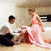 Сборы жениха и невесты :: Анастасия Тищенко