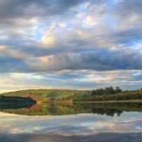 утро на реке Киренга :: Александр