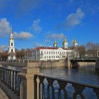 Вид На Никольский морской собор в Питере :: Наталья