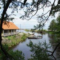 Старая пристань в устье реки Пюхайыги :: Елена Павлова (Смолова)