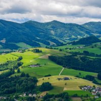Вид с горы Зонтагберг(712 м), Австрия :: Сергей и Ирина Хомич