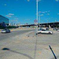 Трасса и мост, а раньше деревья и тропинки :: Света Кондрашова