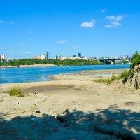 песок и речка день чудесный :: Света Кондрашова