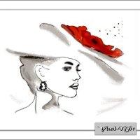 Дама  в шляпе :: Vlad - Mir