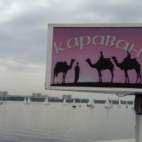 Караван парусников на Днепре - путь из варягов в греки... :: Алекс Аро Аро