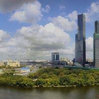 """Панорама вида на """"Москва-сити"""" :: Pavel Stolyar"""