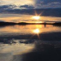 север закат :: геннадий щербак