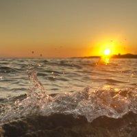 Закат на греческом полуострове Кассандра :: Сергей Лошкарёв