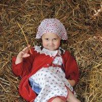 Варвара - деловая крестьянка :: Анастасия Фёдорова