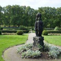 Три грации в дворцовом саду :: Елена Павлова (Смолова)