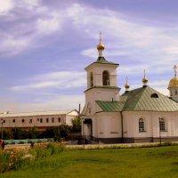 Молельный дом в Свято Троицком монастыре . :: Мила Бовкун