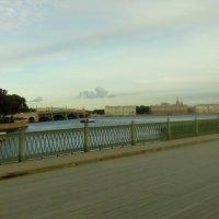 Вид на Неву с моста Петропавловской крепости. :: Светлана Калмыкова