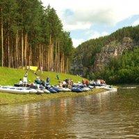 Уральские горы , река Ай. :: Владимир