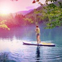 Голубые озера Кабардино-Балкарии :: Евгений Ромащенко