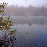 Рыбалка в тумане :: Дубовцев Евгений