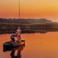 Детство на реке :: LNemykina